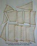 Vasa sail set