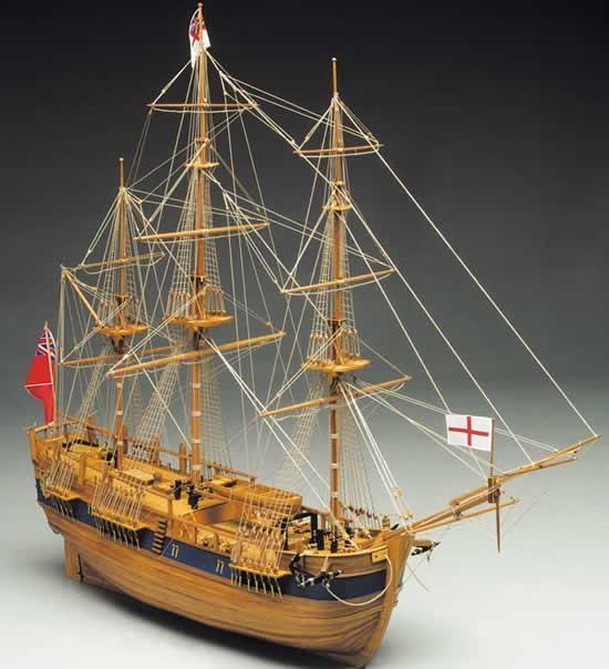 HMS Endeavour 1:60 Scale