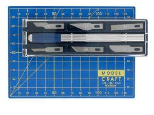 Craft knife and A6 cutting mat set