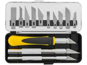 16 Pce Precision Craft Knife Set