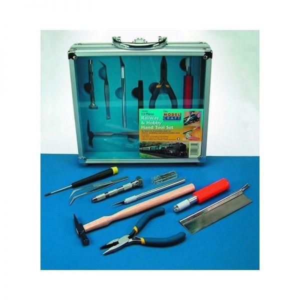 13pc. Railway and Hobby Hand Tool Set