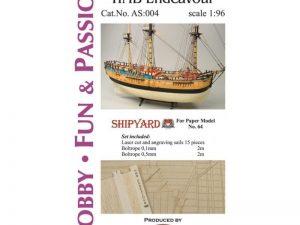 Sails HMB Endeavour 1:96