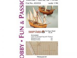 Sails Santa Maria and Nina