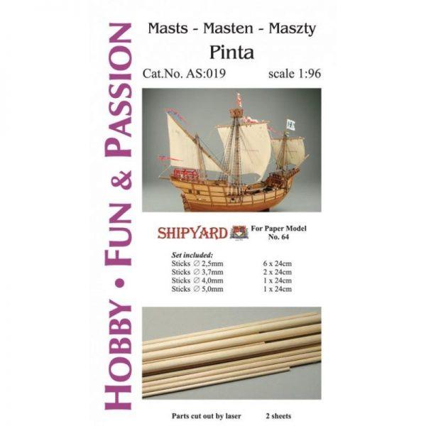 Mast Set for Pinta
