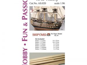 Mast Set for HMS Victory