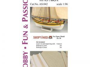 Sails HMS Alert