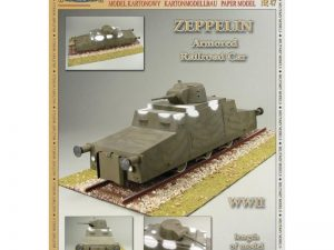 Zeppelin Armored Railroad Car 1:25