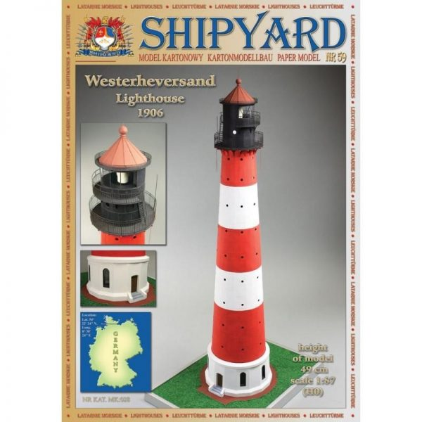 Westerheversand Lighthouse 1:87 (H0)