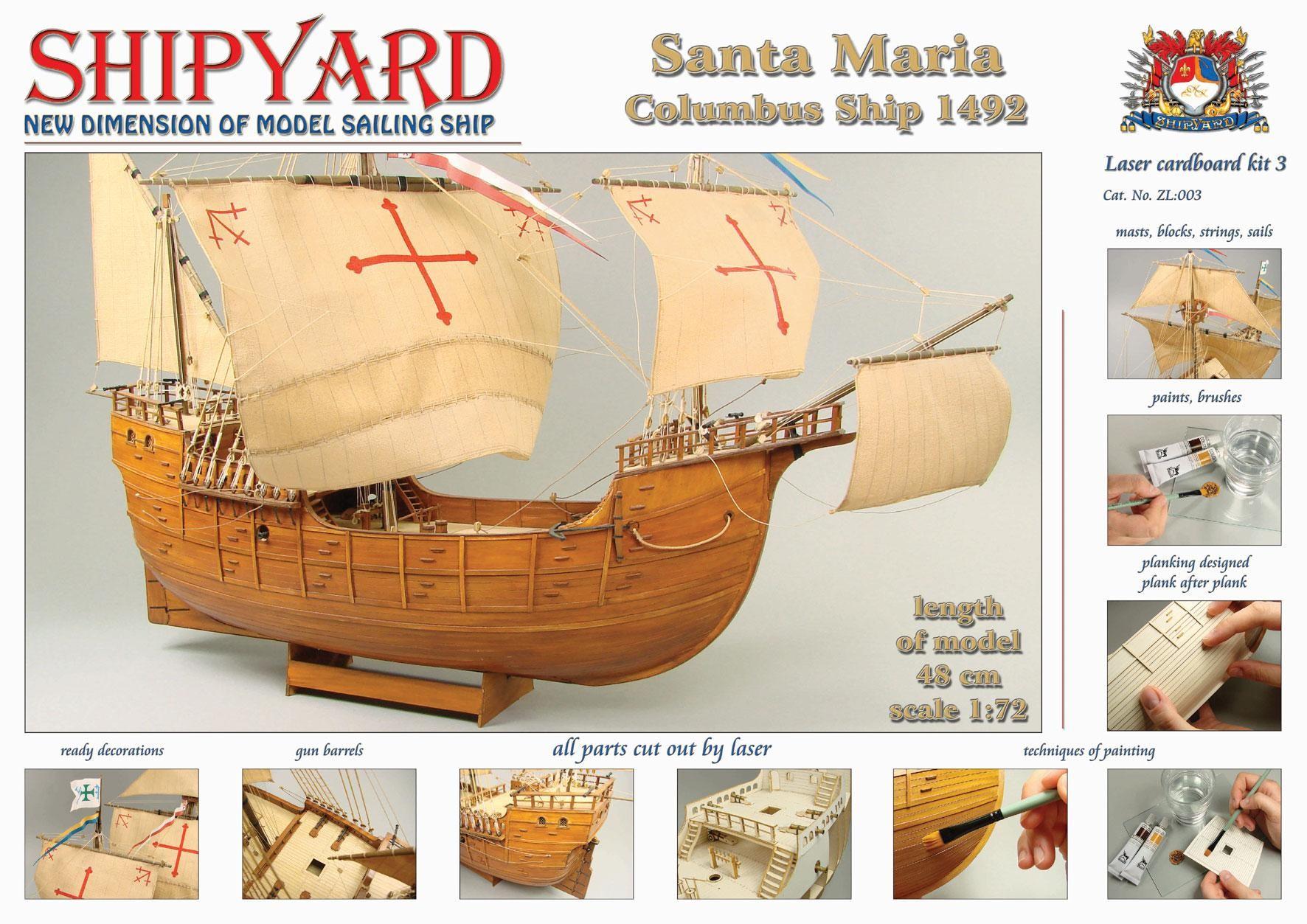 Santa Maria Cardboard Kit (ZL003)