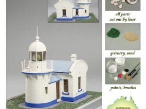 Crowdy Head Lighthouse 1878 1:72