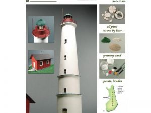 Marjaniemi Lighthouse 1:72