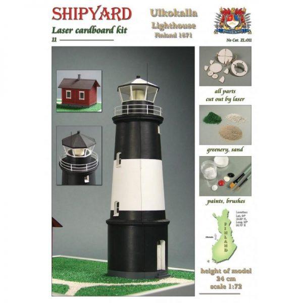 Ulkokalla Lighthouse 1:72