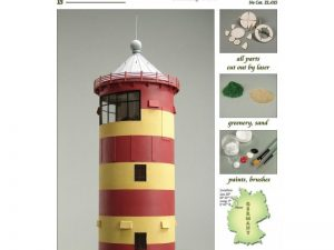 Pilsumer Lighthouse 1:72
