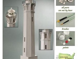 Alcatraz Island Lighthouse 1:72