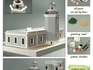 Los Morrillos de Cabo Rojo Lighthouse 1:72