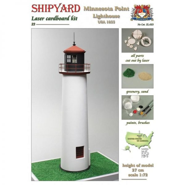 Minnesota Point Lighthouse 1:72