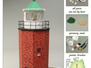 Rotes Kliff Lighthouse 1:72