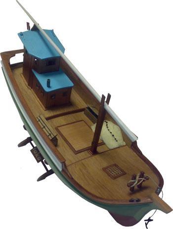 Taka Black Sea Fishing Boat - TU0121