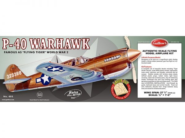 P-40 Warhawk.
