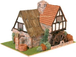 Country Cottage with Waterwheet kit by Domus