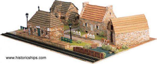 New England Village Set by Domus