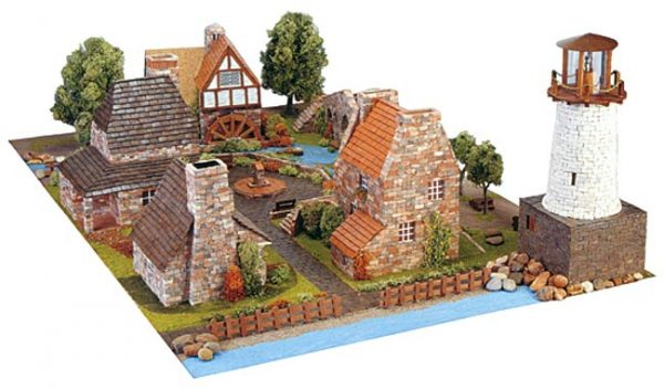 Countryside Town Set by Domus