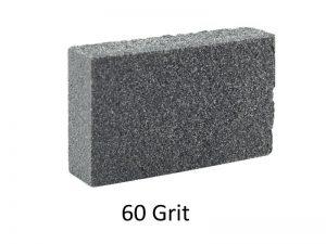 60 grit abbrasive block