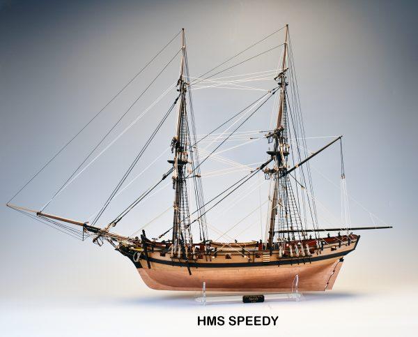 Brig HMS Speedy by Vanguard Models